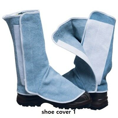 Leather Weld Welder Welding Foot Wear Protective Cover Anti Spark /& Heat 2 Style
