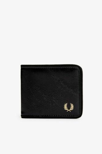Fred Perry Noir Classique Portefeuille Wallet L7233-102