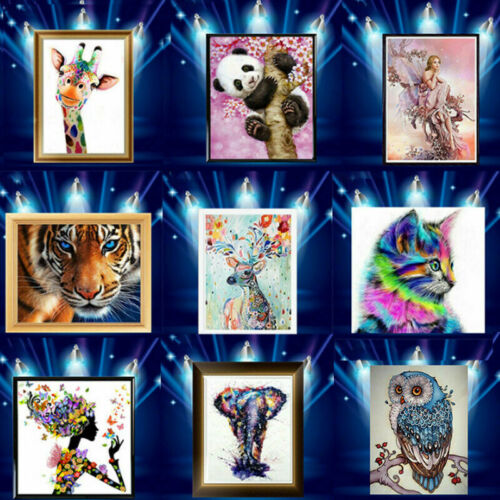 PANDA Art Craft 5D ricamo Diamond Foto Home Kit fai da te pittura con Drill
