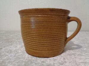 Antico-Ceramica-Tonnellata-Vaso-Fatto-a-Mano-Fatto-a-Mano-circa-1900