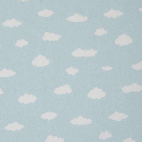 Hilco Baumwollstoff Wolken blau weiss Webware Himmel Wolkenhimmel