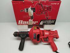Bauer 1724e B Auto Feed Hand Held Drain Cleaner Machine Plumbing Sewer Snake