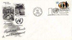 Nazioni UNITE 1965 Evoluzione DEMOGRAFICA e sviluppo Primo giorno di copertura