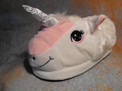 Carácter felpa 3D Novedad Chicas Niñas Zapatillas de unicornio unicornio Zapatillas De Regalo