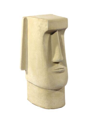 Melmar Stone Easter Island Head Moai Tiki 3 Sizes Garden Stone Statue