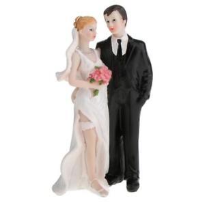 Mariage-Couple-Amour-Chacun-D-039-autres-Gateau-Topper-Couple-Figurine-Gateau
