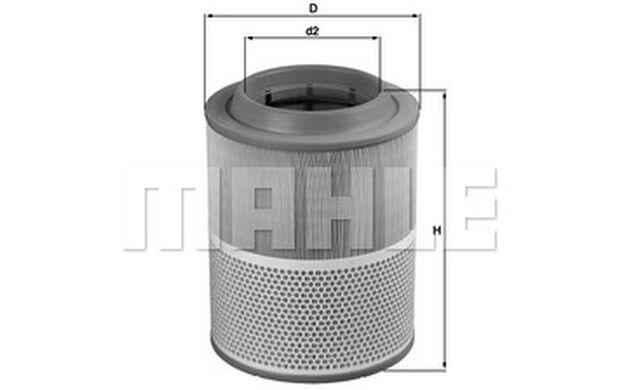 KNECHT Filtro de aire LX 1072