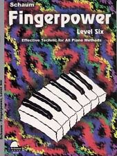 FINGERPOWER LEVEL SIX - PIANO METHOD BOOK 645340