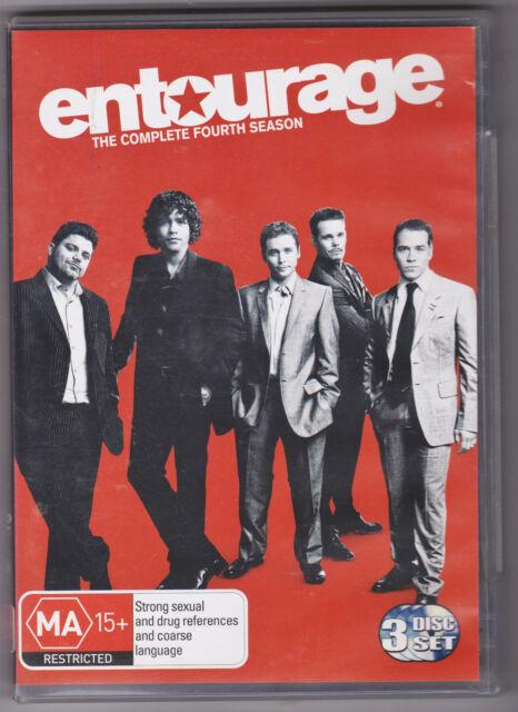 LIKE NEW DVD Entourage : Season 4 (2010, 3-Disc Set)