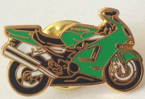 Kawasaki Super bike Motorbike Biker Enamel Lapel  Badge