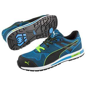 mieux aimé 9b43f a3801 Details about Puma Blaze Knit Low S1P Hro Src Safety Shoes Sz. 39-47  64.306.0