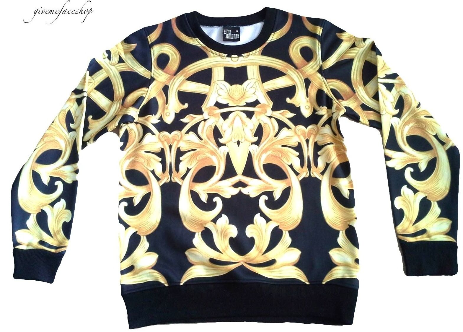 Time Is Money Regal G Sweatshirt, Hip Hop Rap Designer Pullover, Bling Star