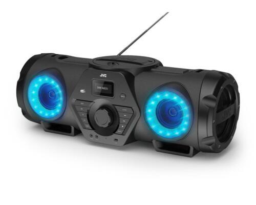 Digitalradio JVC RV-NB300DAB Tragbarer BoomBlaster mit Bluetooth CD Player DAB