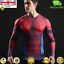 Mens-Marvel-Compression-Armour-Base-Layer-Gym-Top-Superhero-Cycling-T-shirt-fit thumbnail 34