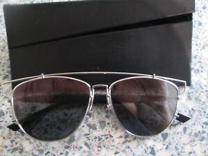 ba673e9b444f8 Christian Dior Noir Argent TECHNOLOGIC Lunettes de soleil .84JOT ...
