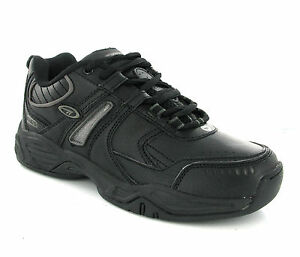 Hi-Tec XT101 Black Lace Up Sports Running Boy Shoes Trainers Size 13-6 UK
