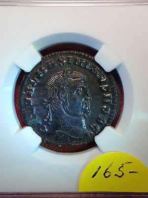 XF Roman AE of Maximinus II AD311-313 NGC