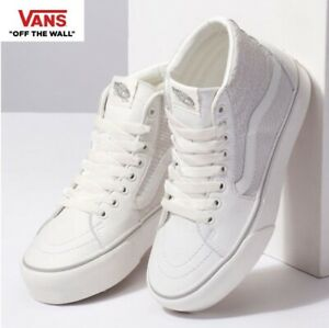 Details about Vans Old Skool Platform SnakeWhite Sk8 Hi Fashion Sneakers,Shoes Women