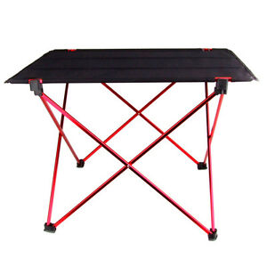 lightweight aluminum alloy outdoor portable folding table