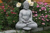 Antique Stone Fan Buddha Statue Garden Ornament Statue