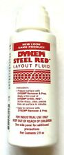 Dykem Steel Red Layoutstaining Fluid 2oz Felt Tip Dabber 80296