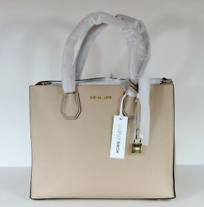 f2f0d3a958 Image is loading New-MICHAEL-KORS-MERCER-LARGE-STUDIO-CONVERTIBLE-Oyster-