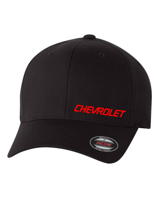 Embroidered Hellcat Head Design Flex-Fit Hat U Choose Size /& Thread Color