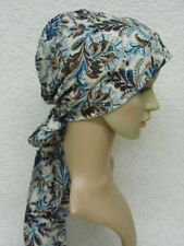 Chemo head scarf, chemo head wear, surgical cap, bad hair day cap, viscose scarf