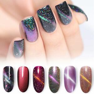 Glitter-Magnetic-Polish-Cat-Eye-Chameleon-Holographic-Nail-Varnish-BORN-PRETTY