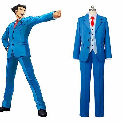 Ace Attorney Gyakuten Saiban Trucy Wright Cosplay Costume