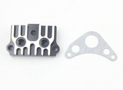 Green 65MM CNC Oil Cooler Adapter Plate125CC Pit Dirt Bike ATV Z50 Motorcycle