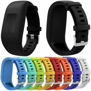 Silicone Armband Uhrenarmband Ersatz Strap für Garmin Vivofit 1 Vivofit 2