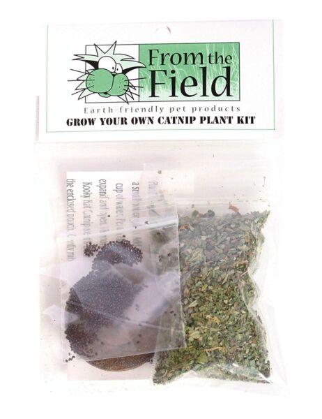 1 - From The Field Grow Your Own Organico Erba Gatta Pianta Kit. To The Usa