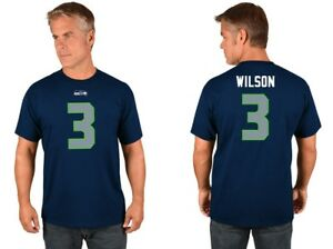 Men s Big   Tall NFL Seattle Seahawks Russell Wilson  3 Adult Jersey ... 2193ad4fe