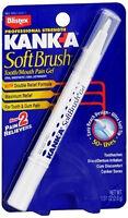 Blistex Kanka Soft Brush Tooth/mouth Pain Gel Stick - 0.07 Oz (6 Pack)