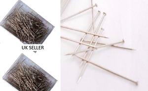 500 Dressmaker Pins Steel Tailor Pins Sewing Craft Hobbies Hemming Dress Clothes