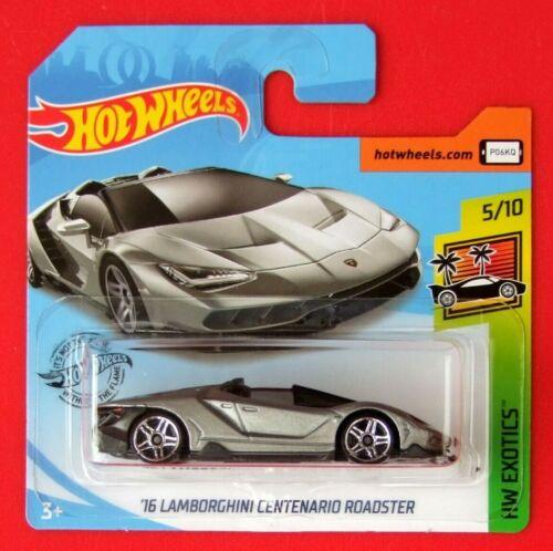 Hot Wheels 2019   ´16 LAMBORGHINI CENTENARIO ROADSTER  213//250 NEU/&OVP