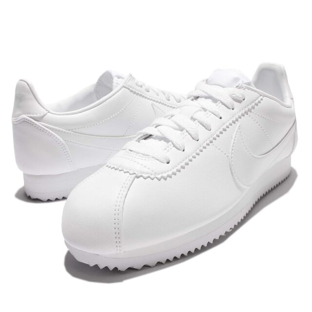 buy popular a382f 47c30 WMNS Classic Cortez Leather Triple White Women Shoes SNEAKERS NSW  807471-102 11