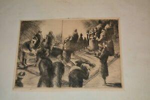AFRICAN AMERICAN ARTIST HENRY BANNARN ORIGINAL ART VERY RARE SIGNED