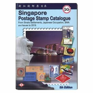 Singapore-Postage-Stamp-Catalogue-2019-5th-Edition-Full-Colour-215-Pages