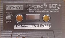Dragons Lair C64 Kassette (Tape) funktioniert 100 %
