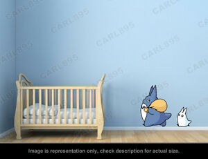 Bon Image Is Loading Ghibli Totoro Totoro Chu Totoro Chibi Wall Art