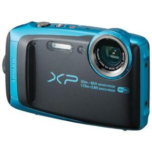 Fujifilm FinePix XP120 16.4MP Digital Camera - Sky Blue