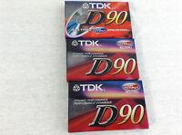 Tdk High Output Normal Position D90 Lot Of 3 (3-pak)