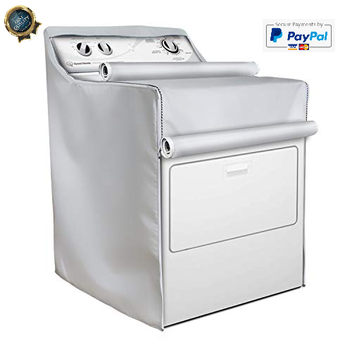 Washer/Dryer Cover,Fit for outdoor top-load and front load machine,Waterproof