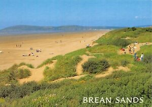 Postcard-Brean-Sands-Somerset-Sun-Sea-Sand-Family-Holidays-Vacation-45X