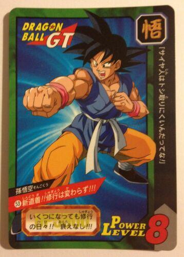 Dragon ball GT Carddass Tokubetsudan 53