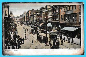 Dated-1904-Briggate-Leeds-Yorkshire