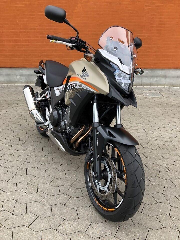 Honda, Honda CB 500 XA, ccm 500
