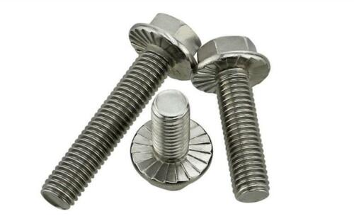 M10//10mm  A2 Stainless Steel HEX Head Hexagon Flange Bolts